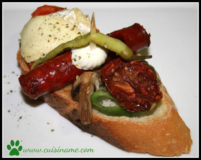 Tapas originales receta pinchos de chorizo cocina for Tapas faciles y buenas