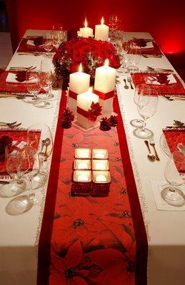 Decoraci n navide a para tu mesa paperblog - Decoracion para mesa navidena ...