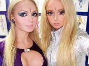 Valeria Lukyonova, barbie humana, nace clon: Dominika