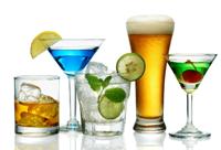 Bebidas para beber en fiestas haciendo dieta
