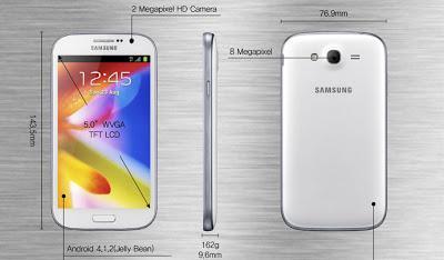 El Samsung GALAXY Grand sale al mercado antes de los esperado