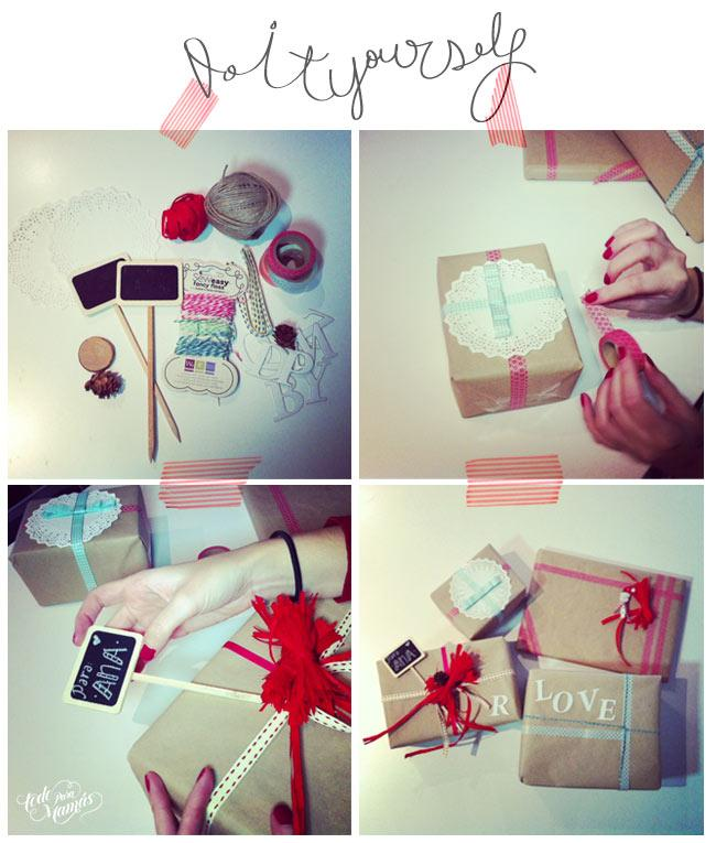 C mo decorar tus regalos de navidad paperblog for Decorar regalos