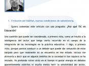 """Colaboración Monográfico """"e-MatemáTICas"""" Observatorio SCOPEO"""