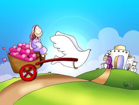 EVANGELIO DOMINICAL EN IMÁGENES: (IV ADVIENTO) 23 DE DICIEMBRE DEL 2012