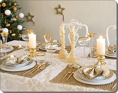 Decoraci n para cena de navidad paperblog for Como poner una mesa bonita