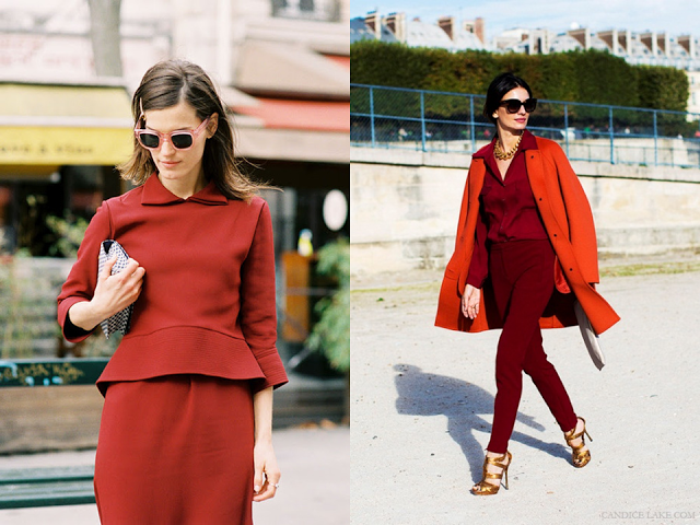 * INSPIRATION: OXBLOOD
