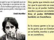 Ovidi Montllor cotidiana manipulación lengua.