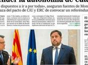 """Mundo"""" publica intención gobierno suspender autonomía Catalunya portada"""