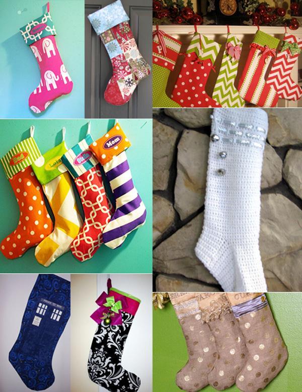 El calcet n de navidad paperblog - Calcetines de navidad personalizados ...