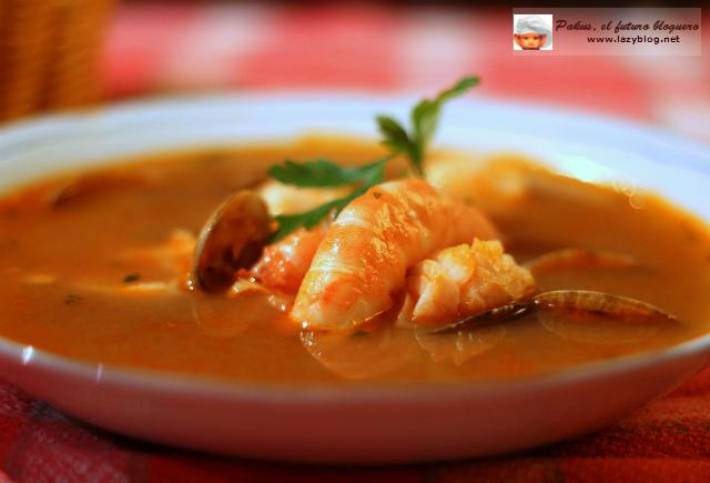 Sopa de pescado y marisco de navidad receta paperblog - Sopa de marisco y pescado ...