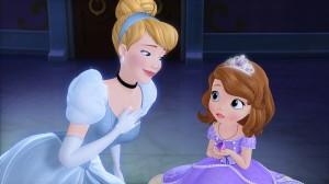 La princesa Sofía y la Cenicienta