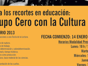 Seminario sigmund freud gratuito. grupo cero cultura. recortes educacion
