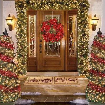 Puertas navide as paperblog - Decoracion navidena puertas ...