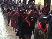 Movilización silenciosa zapatistas Chiapas