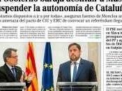 Cataluña camina hacia independencia ESPAÑA