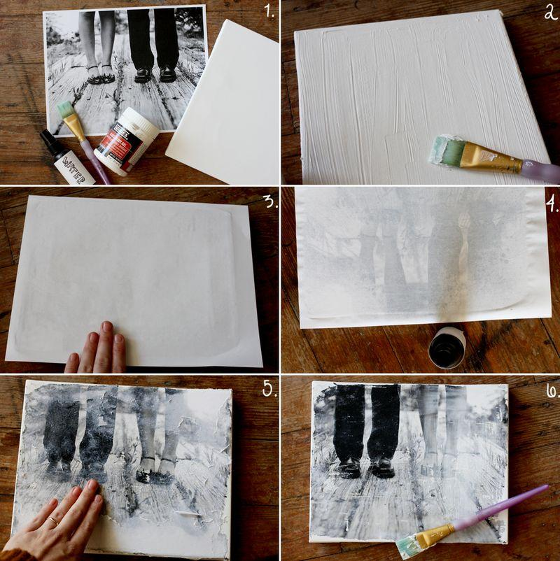 Transfiere tus fotograf as a madera paperblog - Transferir foto a madera ...