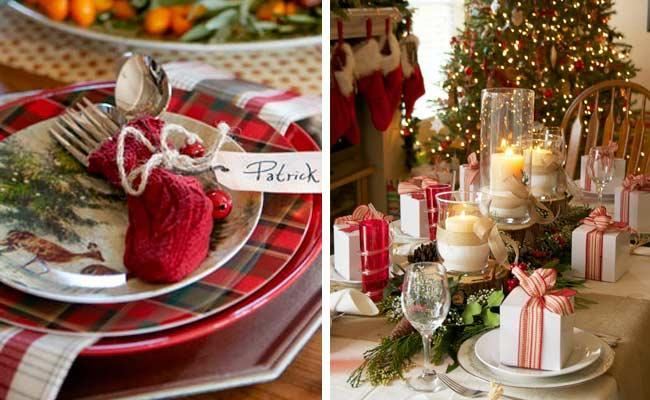 Mesas de navidad paperblog - Mesa de navidad decorada ...