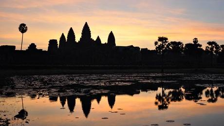 Angkor Wat Amanecer Blog Feliz Navidad desde Angkor Wat!