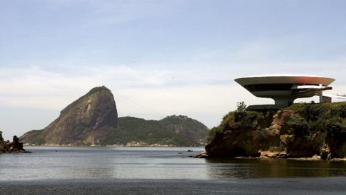 Brazilian Architect Oscar Niemeyer