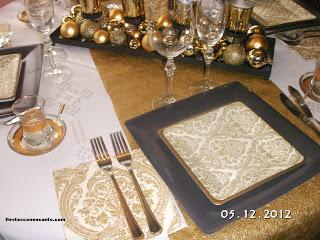 Decoraci n de mesa nochevieja paperblog - Decoracion mesa nochevieja ...