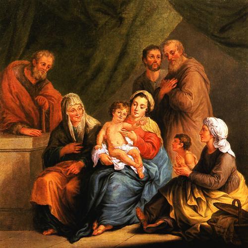 Imagenes Sagrada Familia Navidad.Domingo Octava De Navidad Sagrada Familia Jesus Maria Y