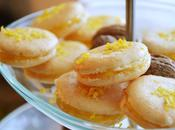 Macarons crema limón
