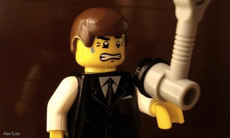 ESCENAS DE CINE CON CLIPS DE LEGO