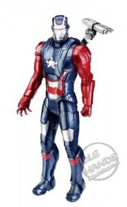 Figura de Iron Patriot de Iron Man 3 de Hasbro
