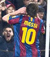 El País, diario de Uruguay: Messi, Rey de Europa