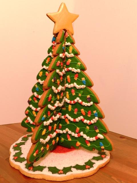 christmas tree log base