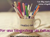 Blogosfera Literaria faltas ortografía