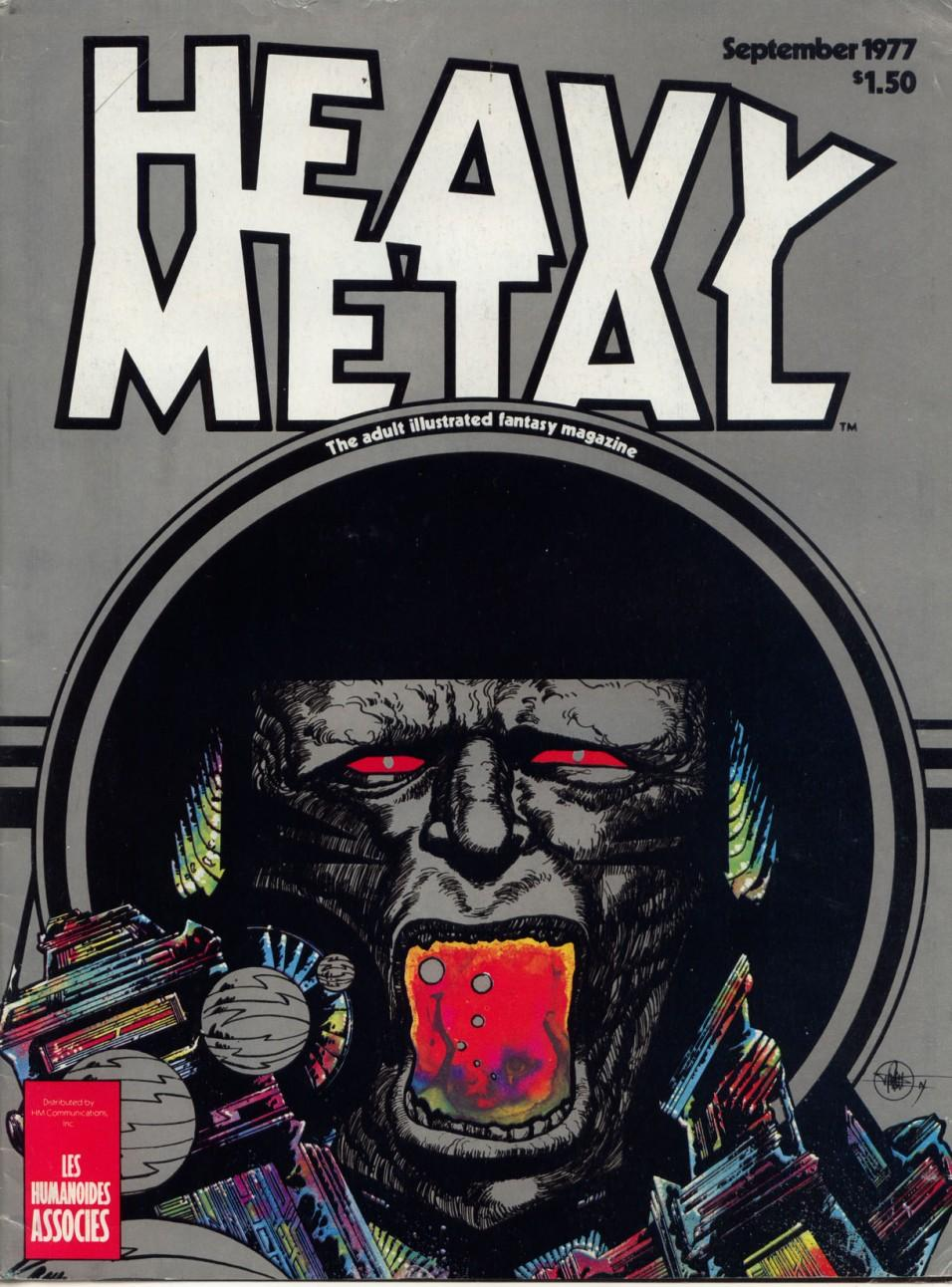 Hentai de la revista heavy metal