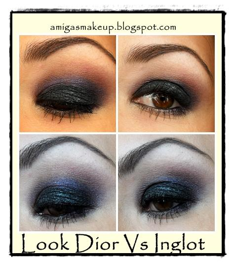 Look Intense Dior Vs Inglot