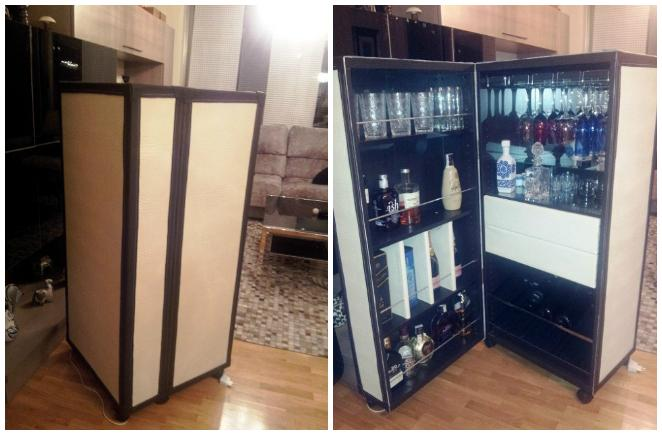 Ikea hack el mueble bar besta de mar a paperblog for Mueble bar ikea