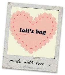 MADE WITH LOVE ... LALIS BAG
