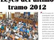 Leyes promulgadas Bolivia, durante gestión 2012