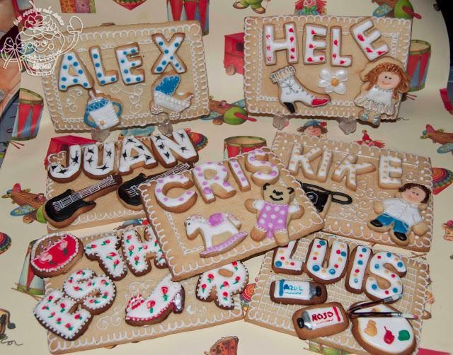 Cuadros de galleta personalizados y regalos de reyes Paperblog