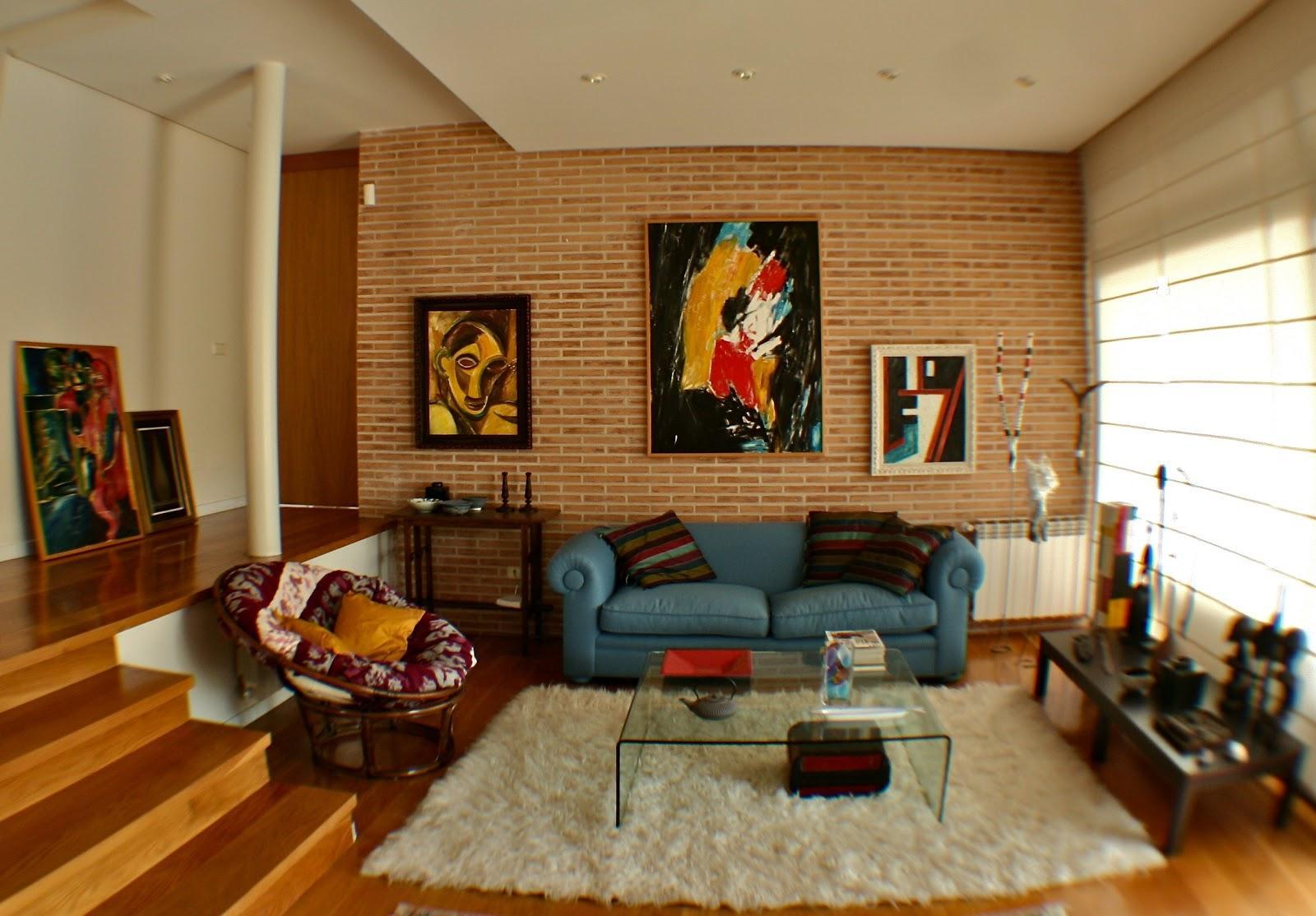 Ladrillo cara vista en interiores paperblog - Decoracion paredes interiores ...