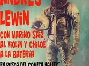 """Andrés Lewin busca cometa Halley"""" enero 2013, Sala Galileo"""