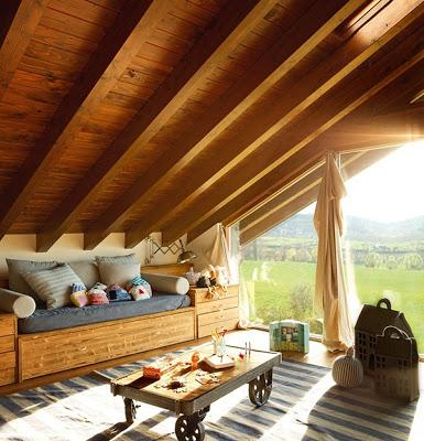 Los interiores de techos de tejas rusticos paperblog - Decoracion de techos rusticos ...