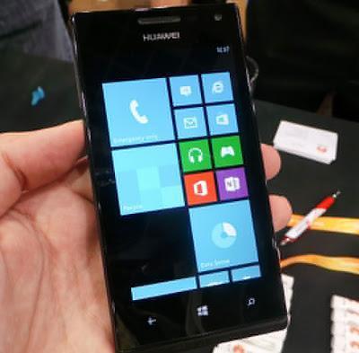 Huawei presenta su smartphone de gama media con Windows Phone 8