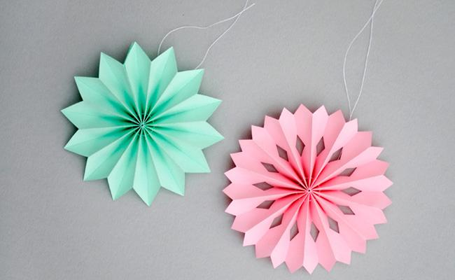 guirnaldas cmo hacer guirnaldas de papel - Hacer Guirnaldas