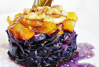 Col lombarda especiada con manzana caramelizada paperblog for Cocinar lombarda