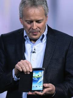 Samsung presenta pantallas flexibles OLED para smartphones