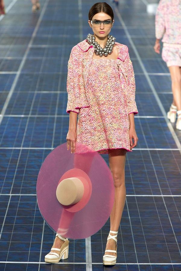 Chanel maxi sombrero s/s 2013