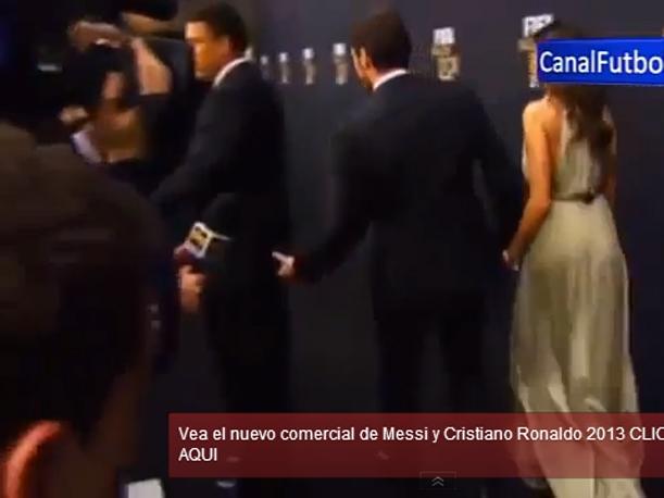 Iker Casillas pellizcó el culo de Ronaldo