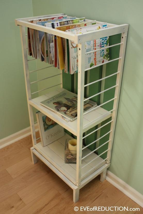 La tiza m gica 10 ideas de c mo reutilizar cunas for Ideas para reciclar muebles
