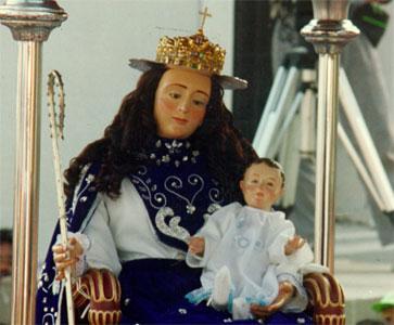 La procesión de la Divina Pastora de Barquisimeto en directo