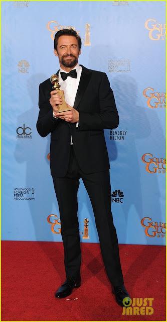 Globos de Oro 2013. Looks en negro