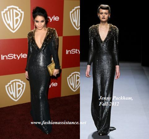 Selena Gómez y Vanessa Hudgens en una fiesta de los Globos de Oro. ¿Quién te gusta más?